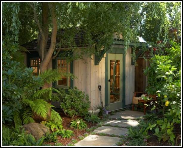Deko Ideen Gartenhaus