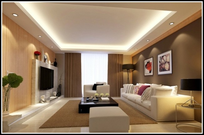 Design Beleuchtung Im Wohnzimmer