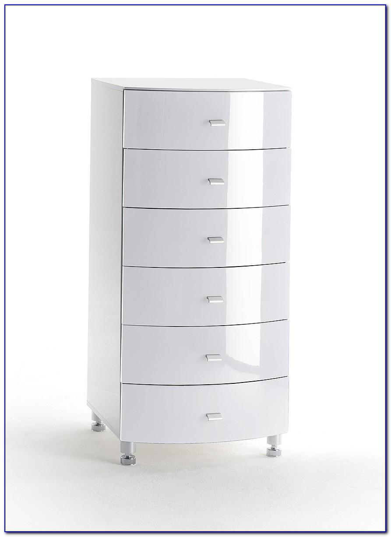 Design Kommode Weiß