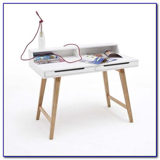 Design Schreibtisch Weiß
