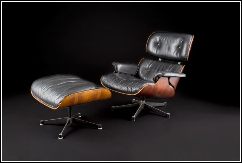 Design Sessel Mit Ottomane