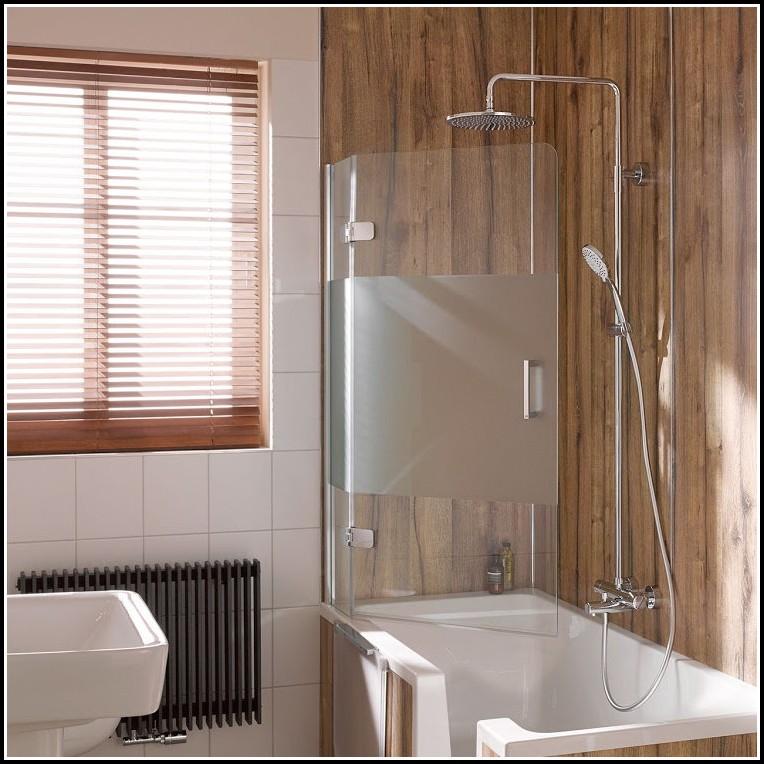 Duschabtrennung Badewanne Dachschräge