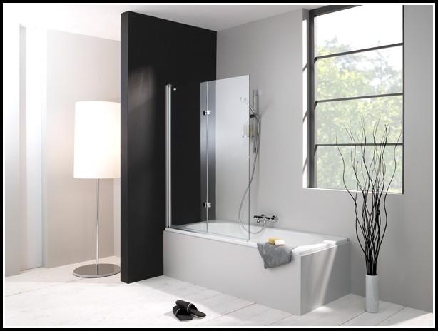 Duschabtrennung Badewanne Glas Faltbar