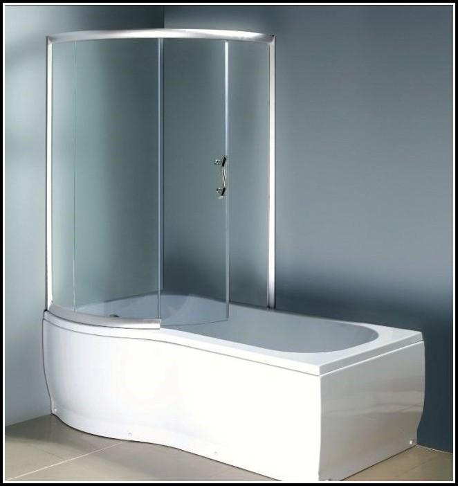 Duschabtrennung Für Badewannen Glas