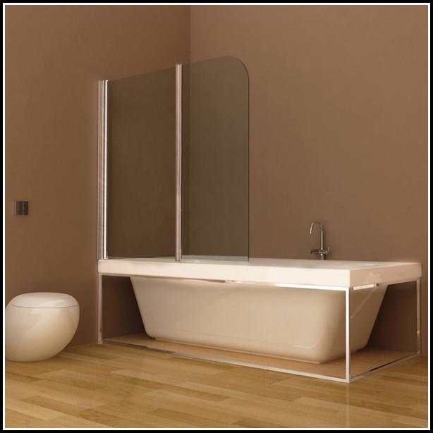 Duschabtrennung Glas Auf Badewanne