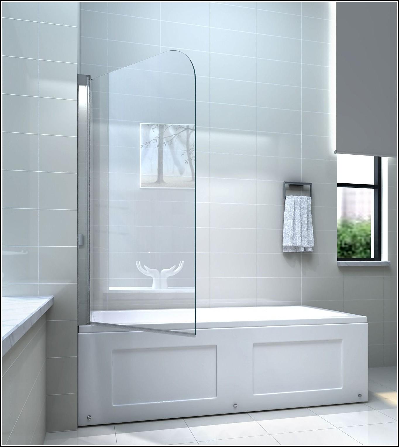 Duschabtrennung Glas Fr Badewanne