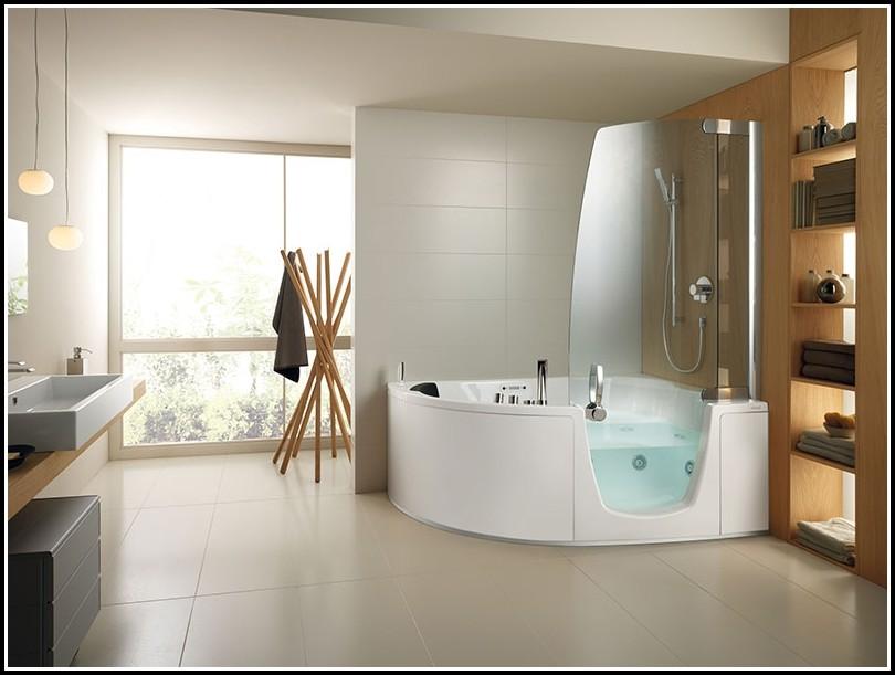 Dusche Badewanne Mit Tür