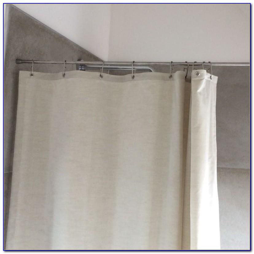 Dusche Vorhangschiene