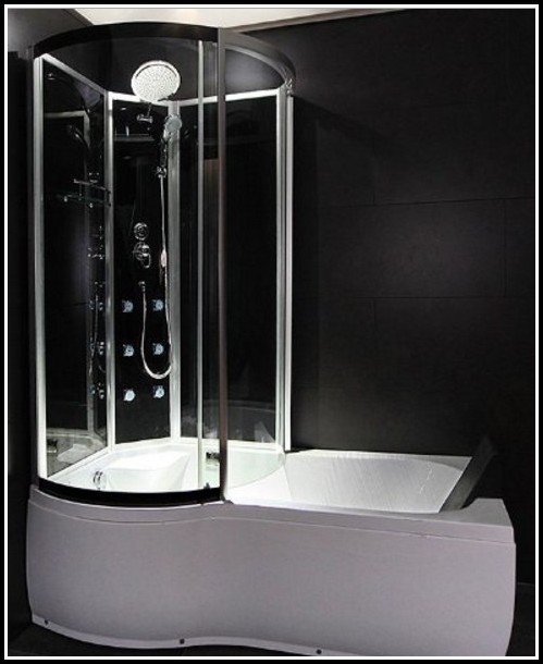 Duschwand Dusche Neben Badewanne