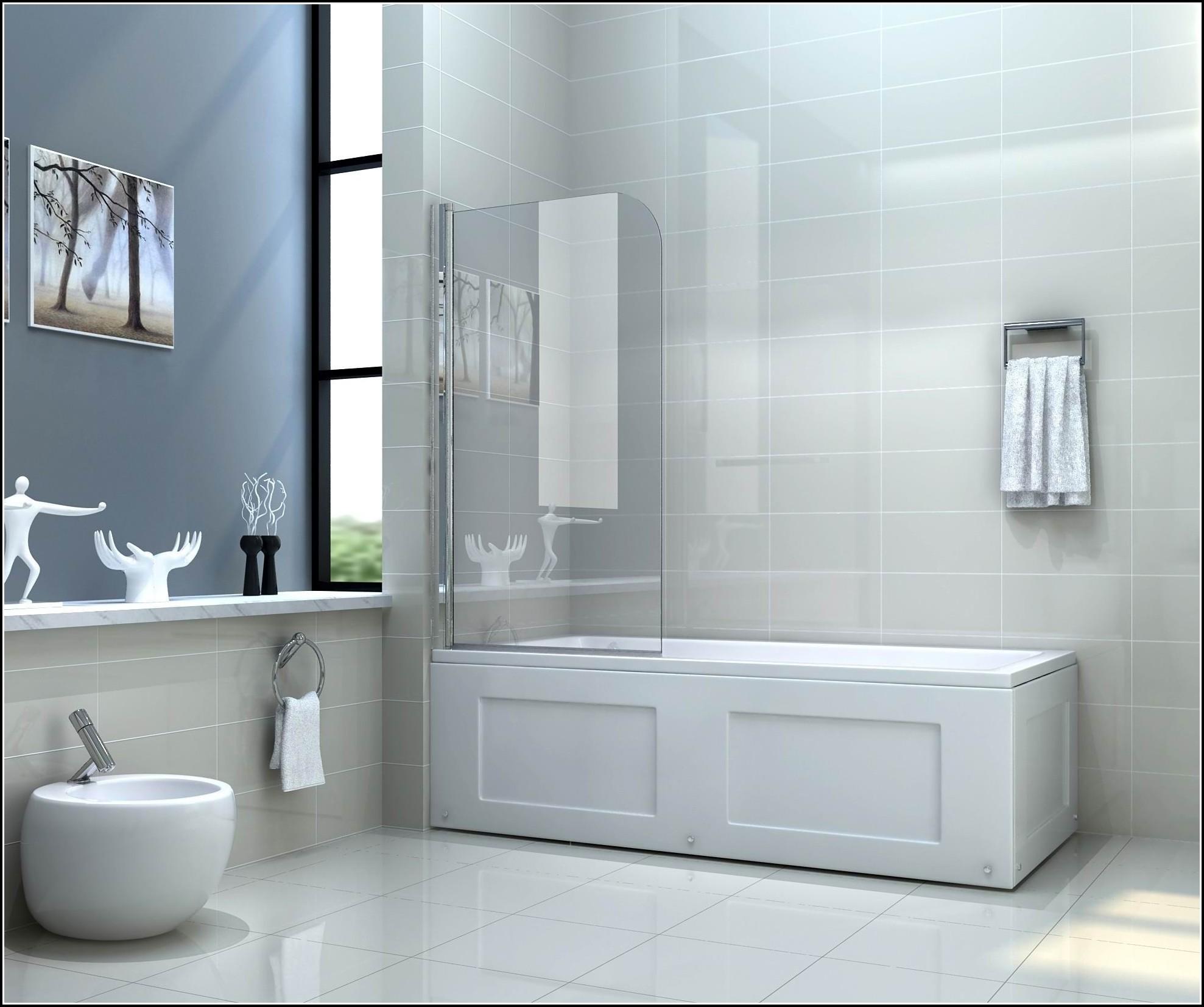 Duschwand Fr Badewanne Glas