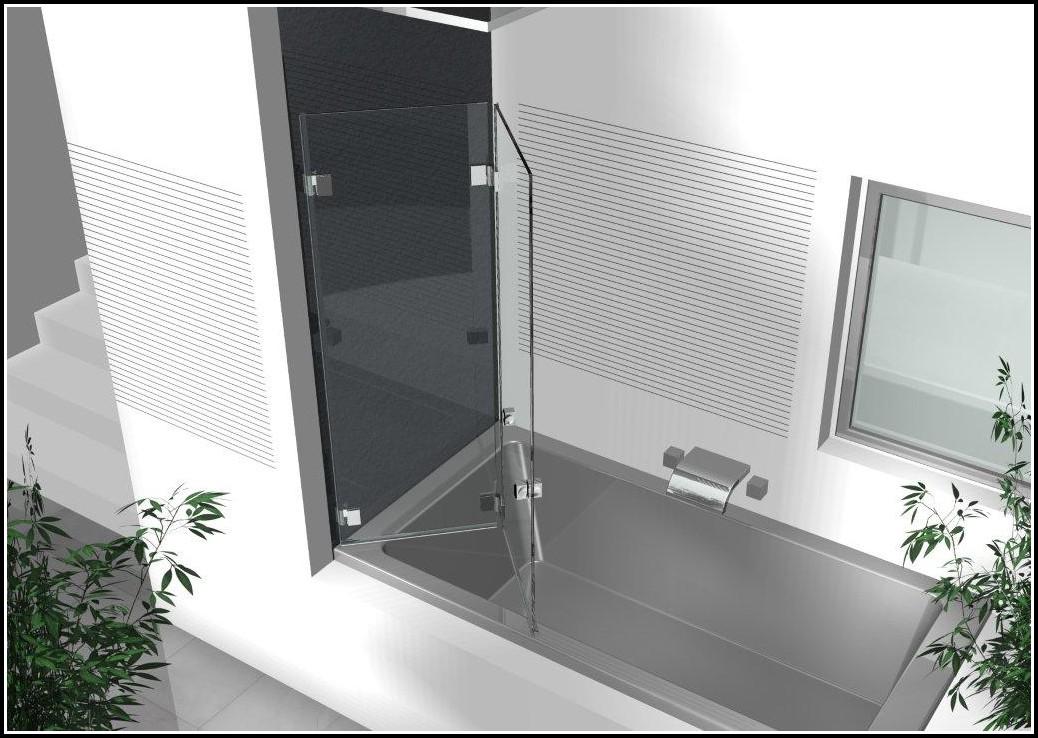 Duschwand Glas Badewanne Obi