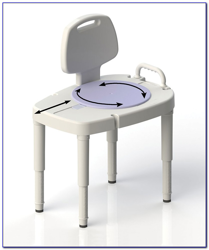 Eagle Health Sliding Transfer Bench With Swivel Seat