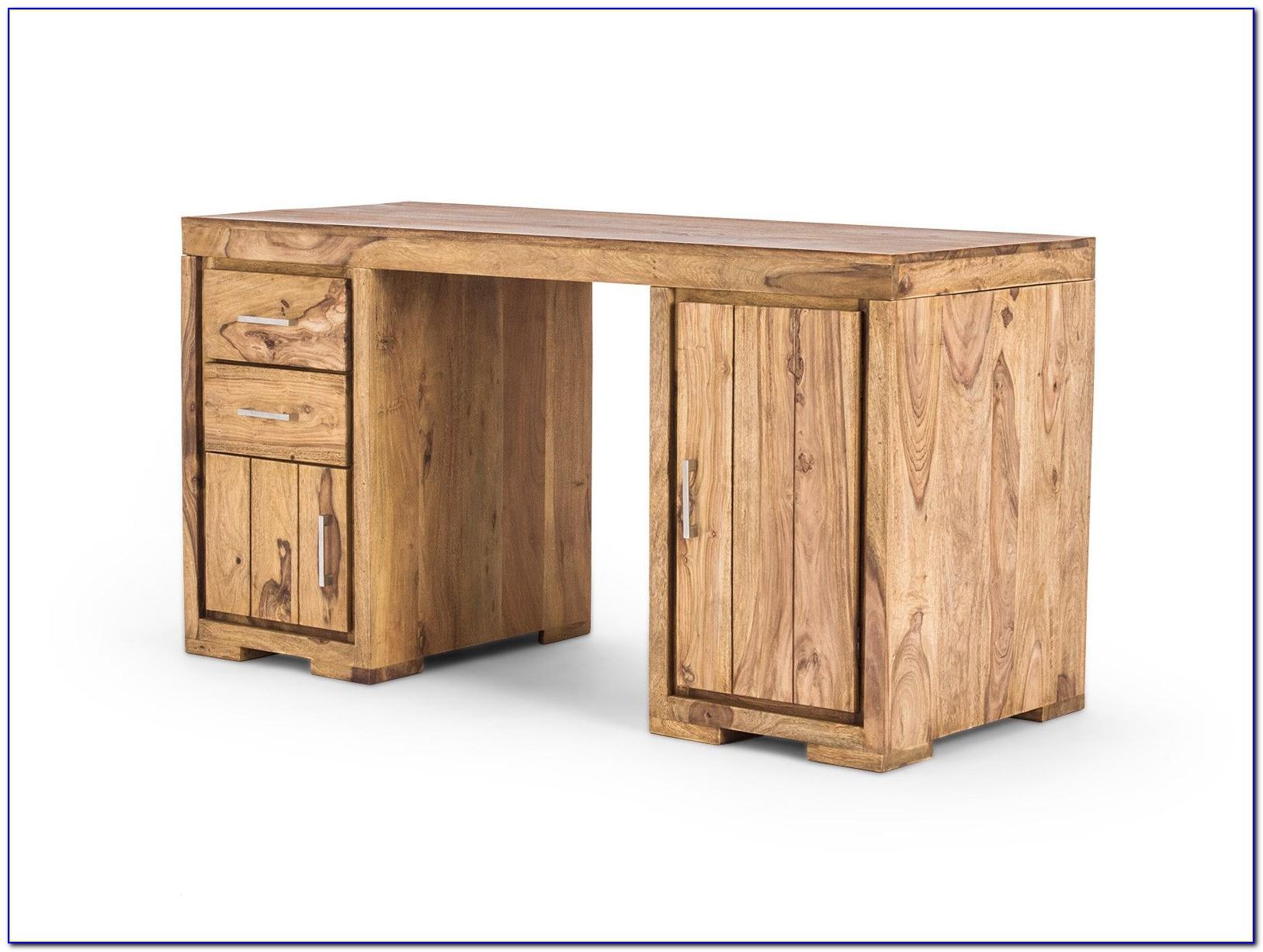 Echtholz Schreibtisch Ahorn