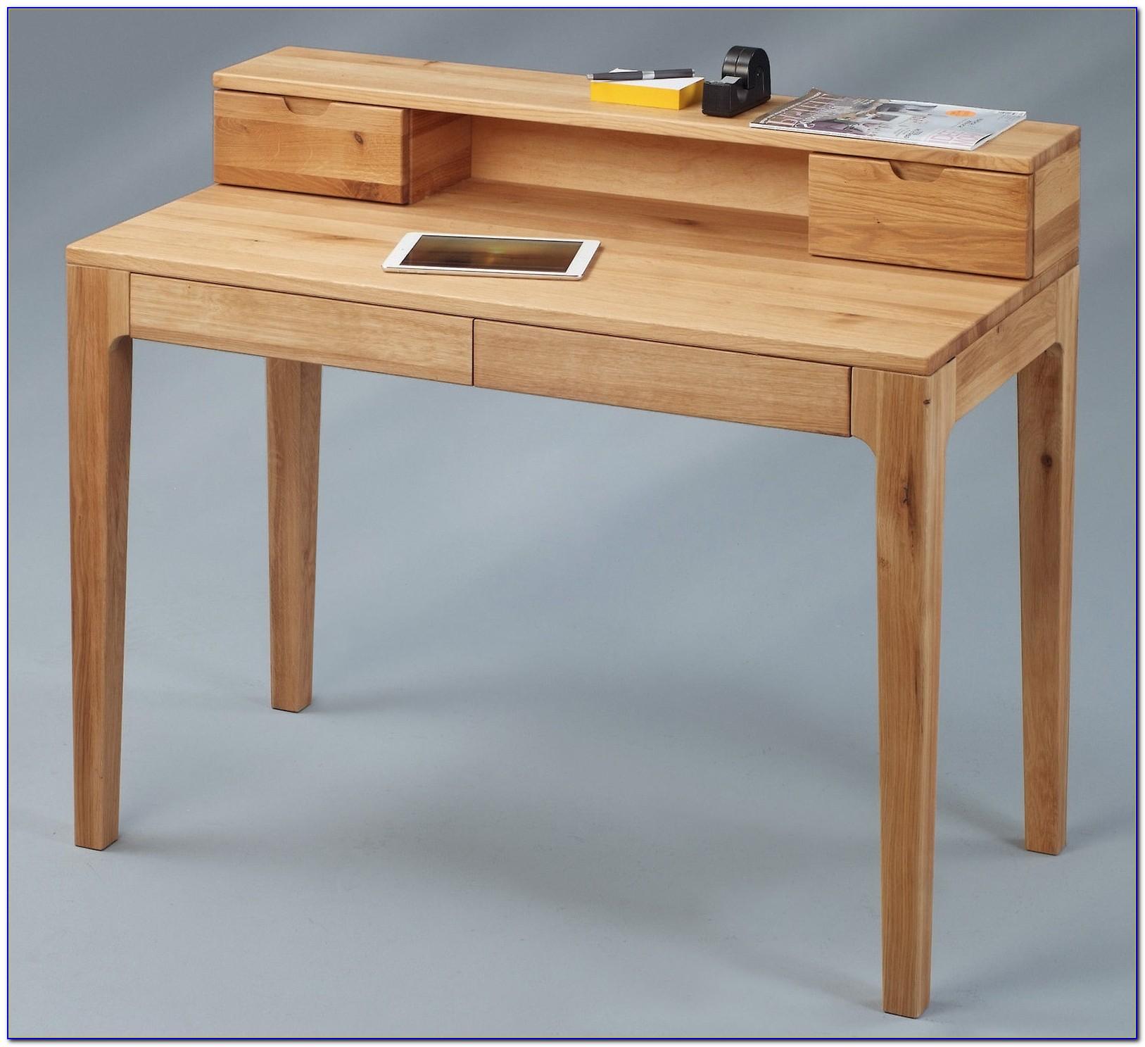 Echtholz Schreibtischplatte
