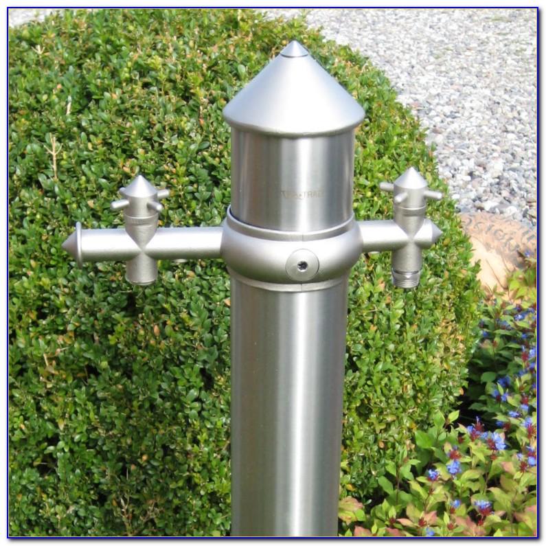 Edelstahl Wasserhahn Polieren