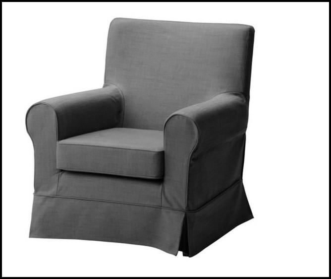 Ektorp Sessel Bezug Grau