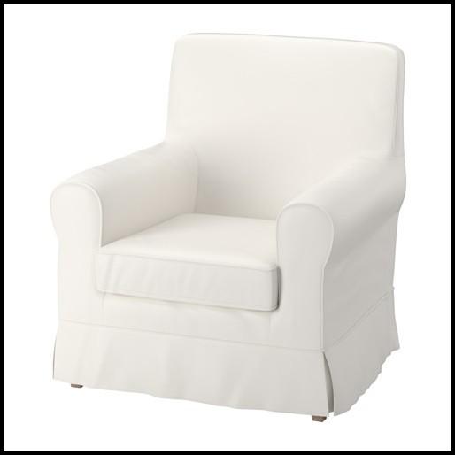 Ektorp Sessel Bezug Weiß
