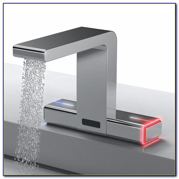 Elektrische Wasserhahn