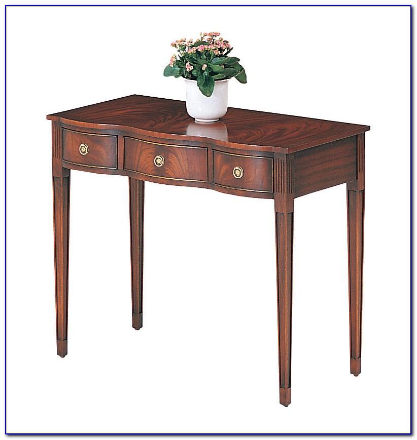 Englischer Mahagoni Schreibtisch