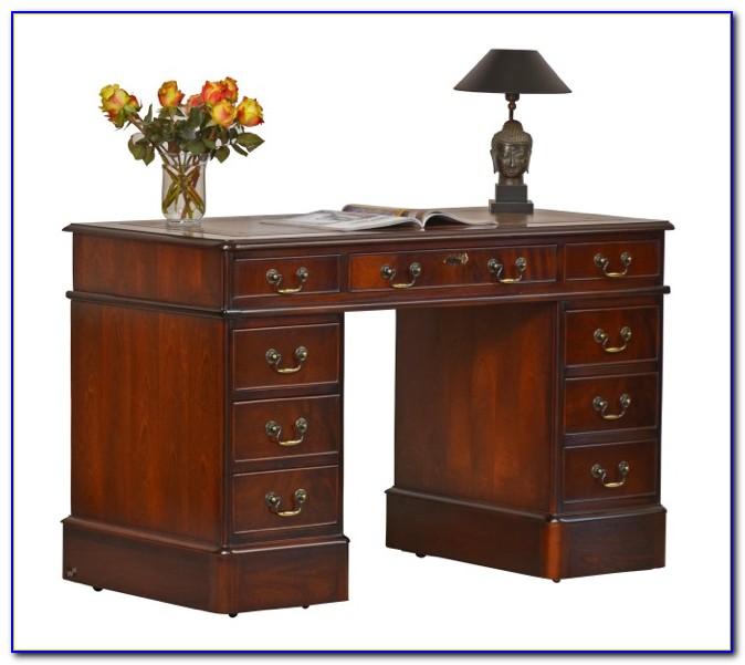 Englischer Schreibtisch Mahagoni