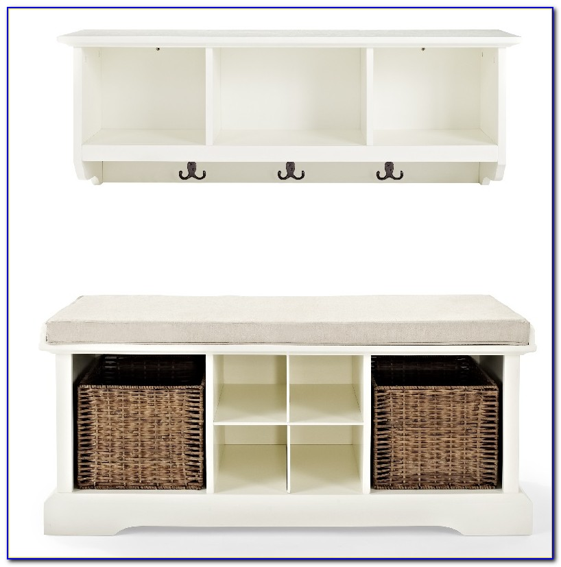 Entryway Bench And Shelf Ideas