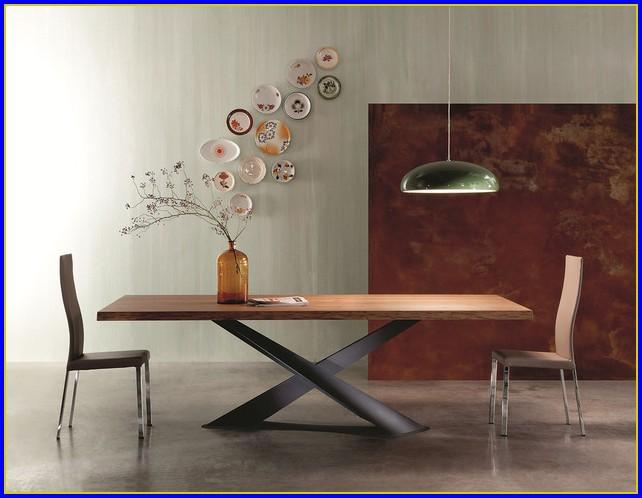 Esstisch Aus Holz Und Glas