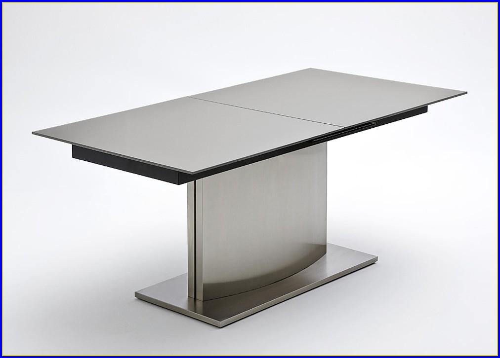 Esstisch Glas Ausziehbar Oval