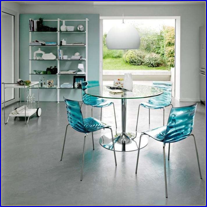 Esstisch Glas Rund Designer
