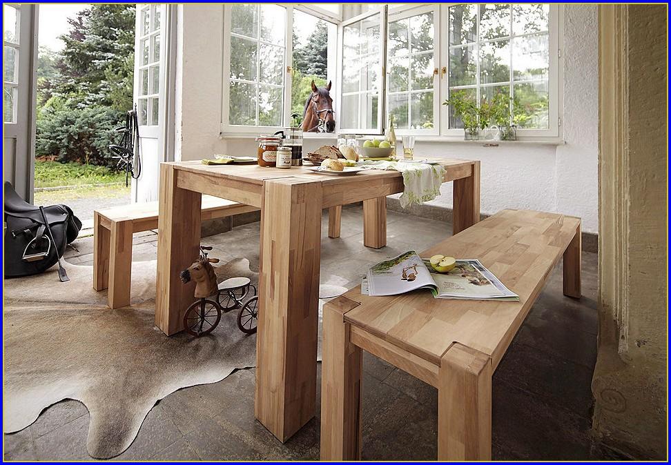 Esstisch Holz Massiv Design