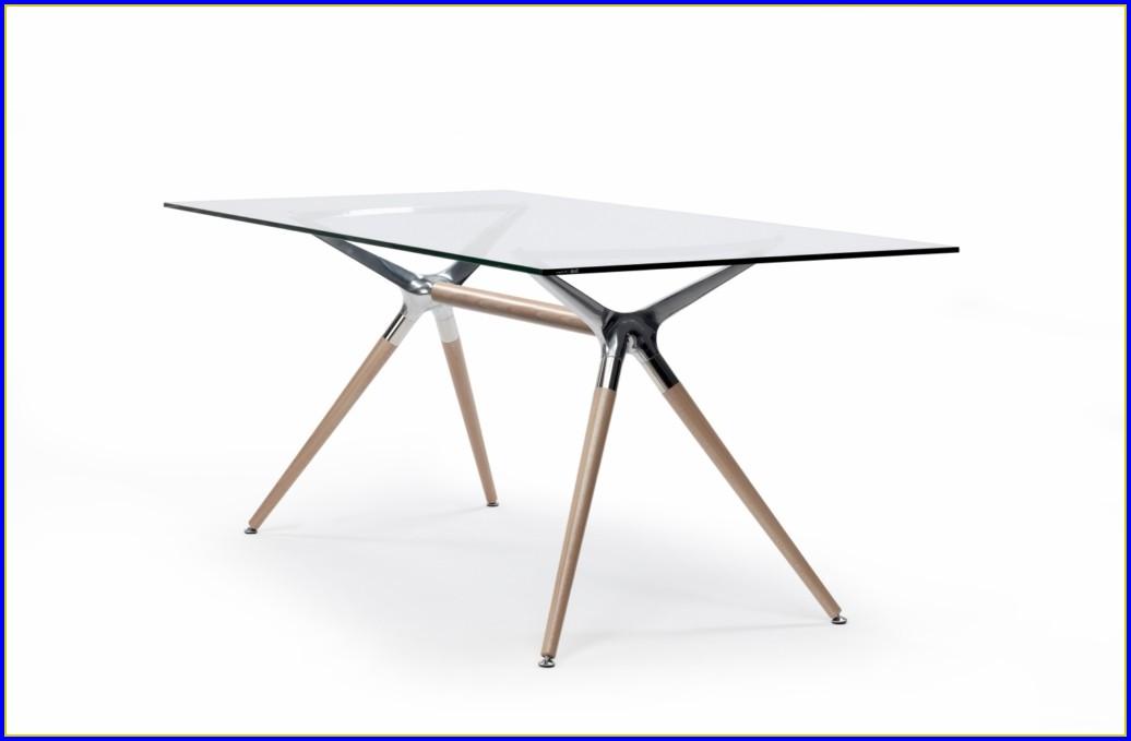 Esstisch Holz Metall Design