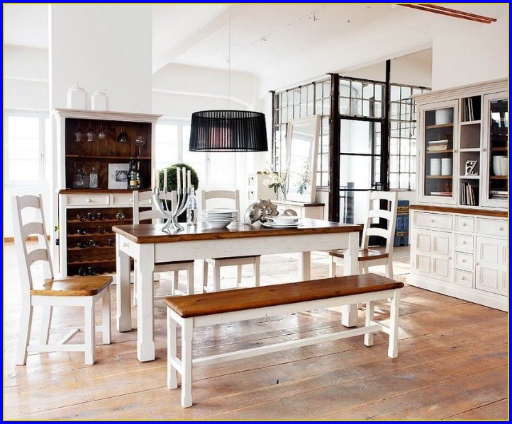 Esstisch Landhaus Weiß Möbel