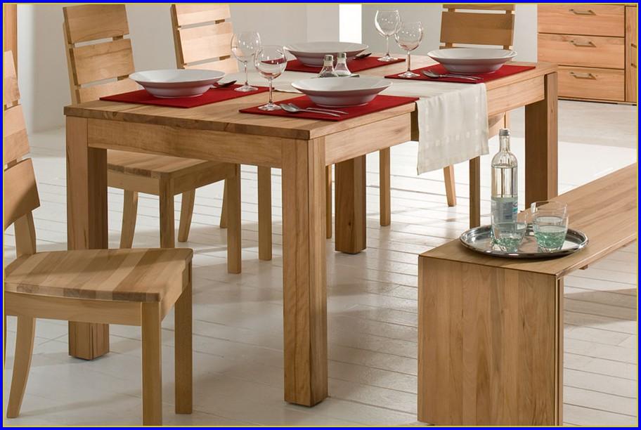 Esstisch Massivholz Ausziehbar Design