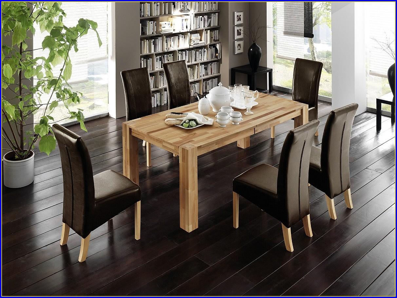 Esstisch Mit 6 Stühlen Weiss