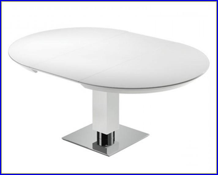 Esstisch Oval Ausziehbar Glas