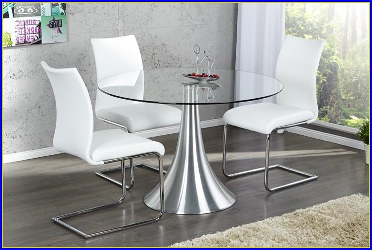 Esstisch Rund Glas Designer