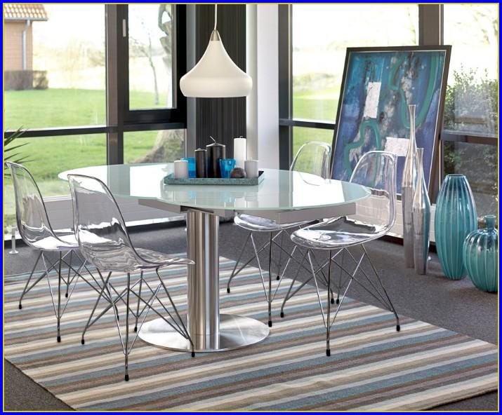 Esstisch Rund Glas Ebay