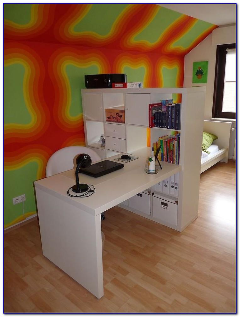 Expedit Schreibtisch Weiß