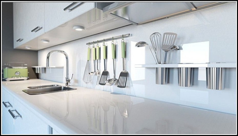 Farbe Statt Fliesen In Der Küche