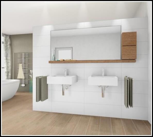 Fliesen Holzoptik Badezimmer