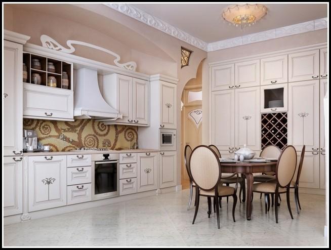 Fliesen Küchenwand Landhaus
