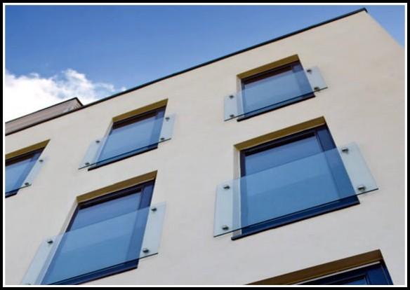 Französische Balkon Glas