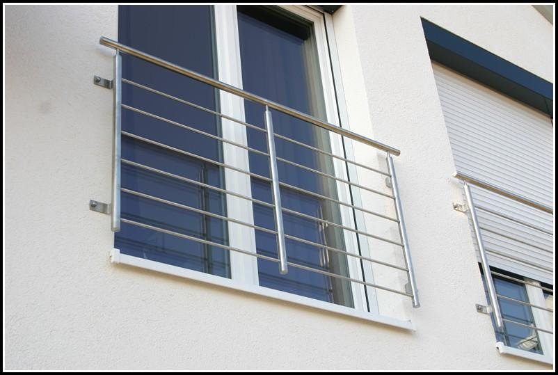 Französische Balkone Edelstahl Bilder