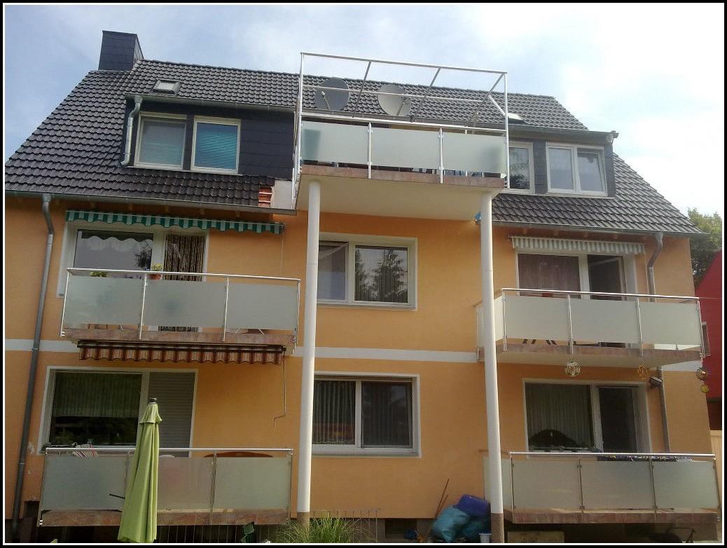 Französischer Balkon Geländer Edelstahl