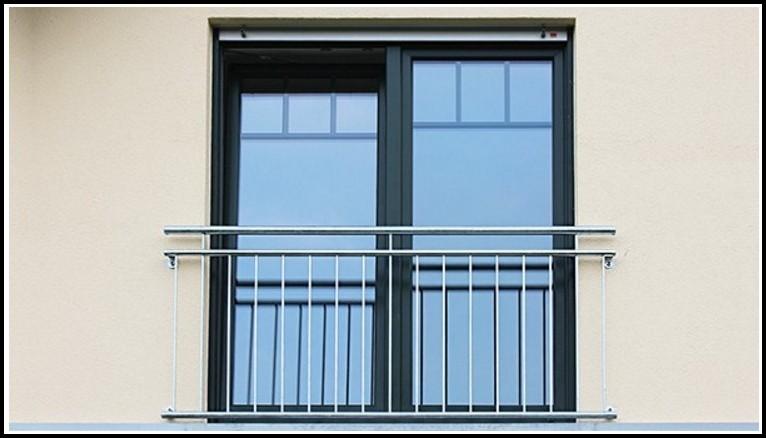 Französischer Balkon Verzinkt Oder Edelstahl