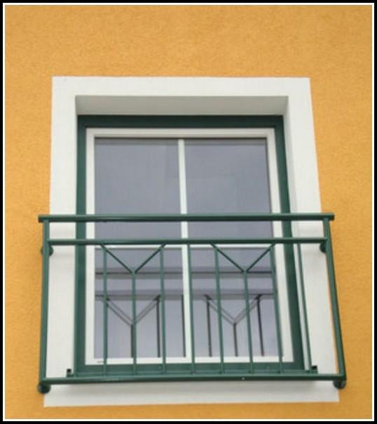 Französischer Balkon Verzinktem Stahl