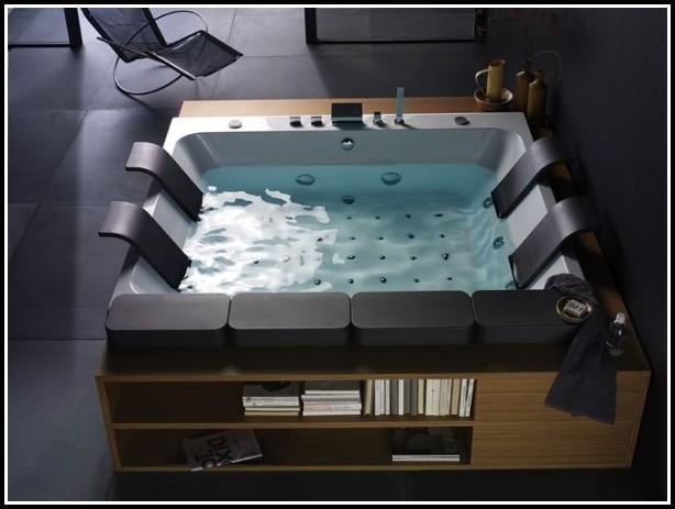 Freistehende Badewanne Whirlpool System