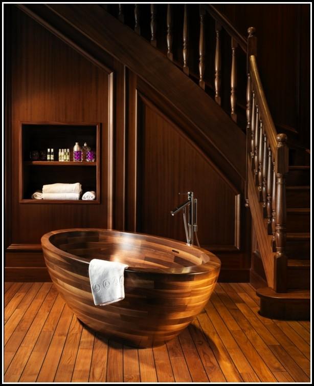 Freistehende Badewannen Aus Holz