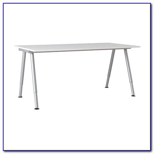 Galant Ikea Schreibtisch Glas