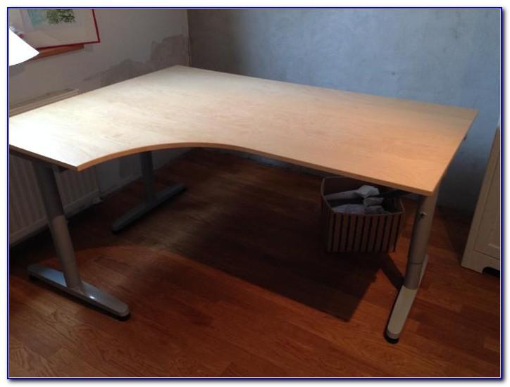 Galant Schreibtisch Ikea Buche