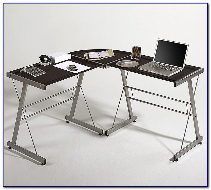 Galant Schreibtisch Schwarz Glas